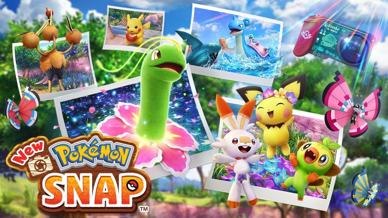 New Pokémon Snap Portada