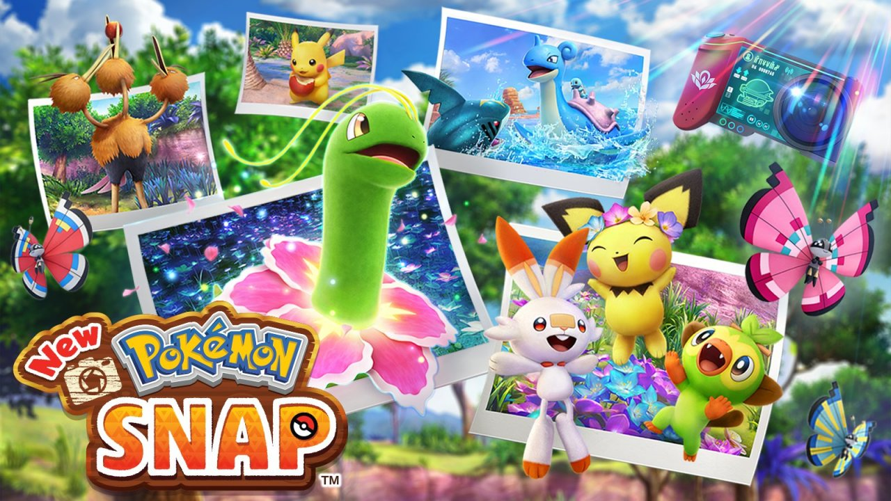 New Pokémon Snap Portada