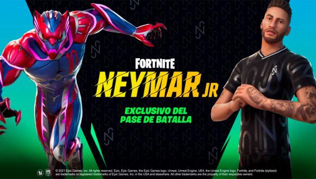 Neymar Jr en Fortnite