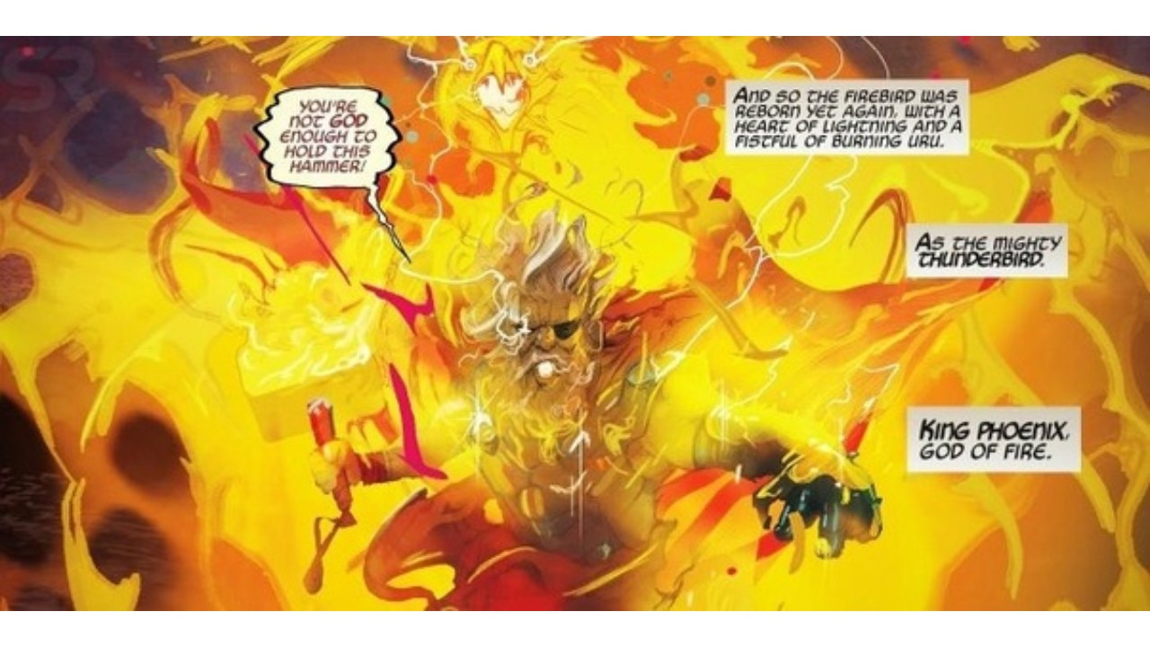 old king phoenix thor marvel