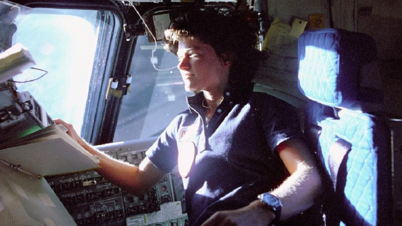 Sally Ride Nasa 100 Tampones