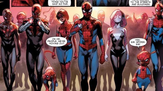spider man multiverso personajes
