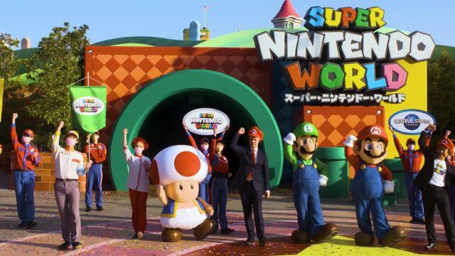 Super Nintendo World sería el culpable del repunte de casos de covid19