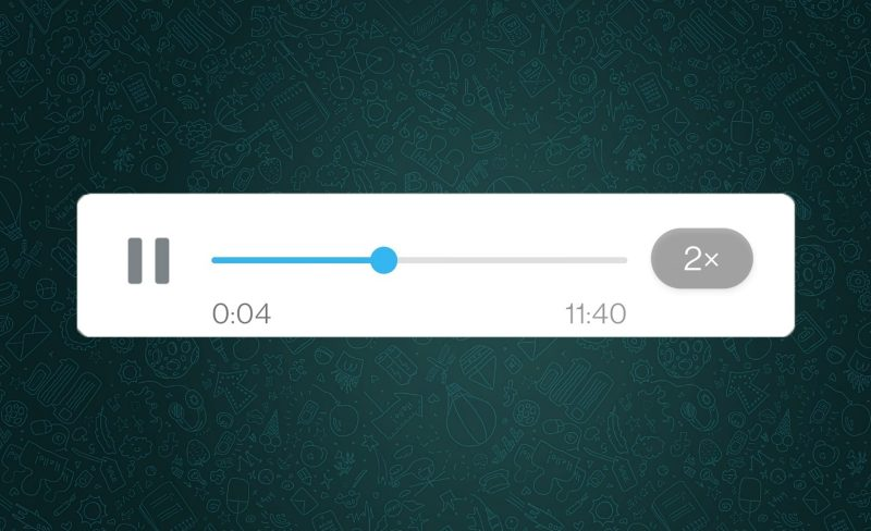 whatsapp acelerar audios app android