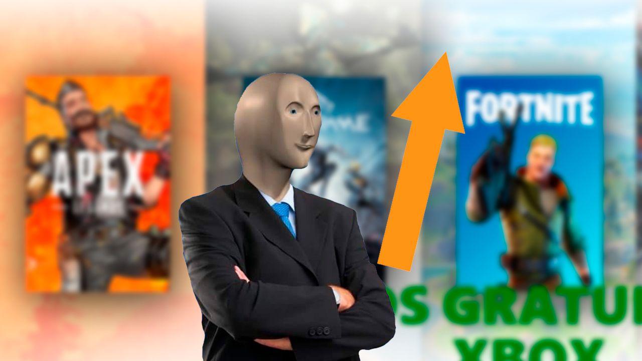 Xbox pone gratis todos sus juegos free to play