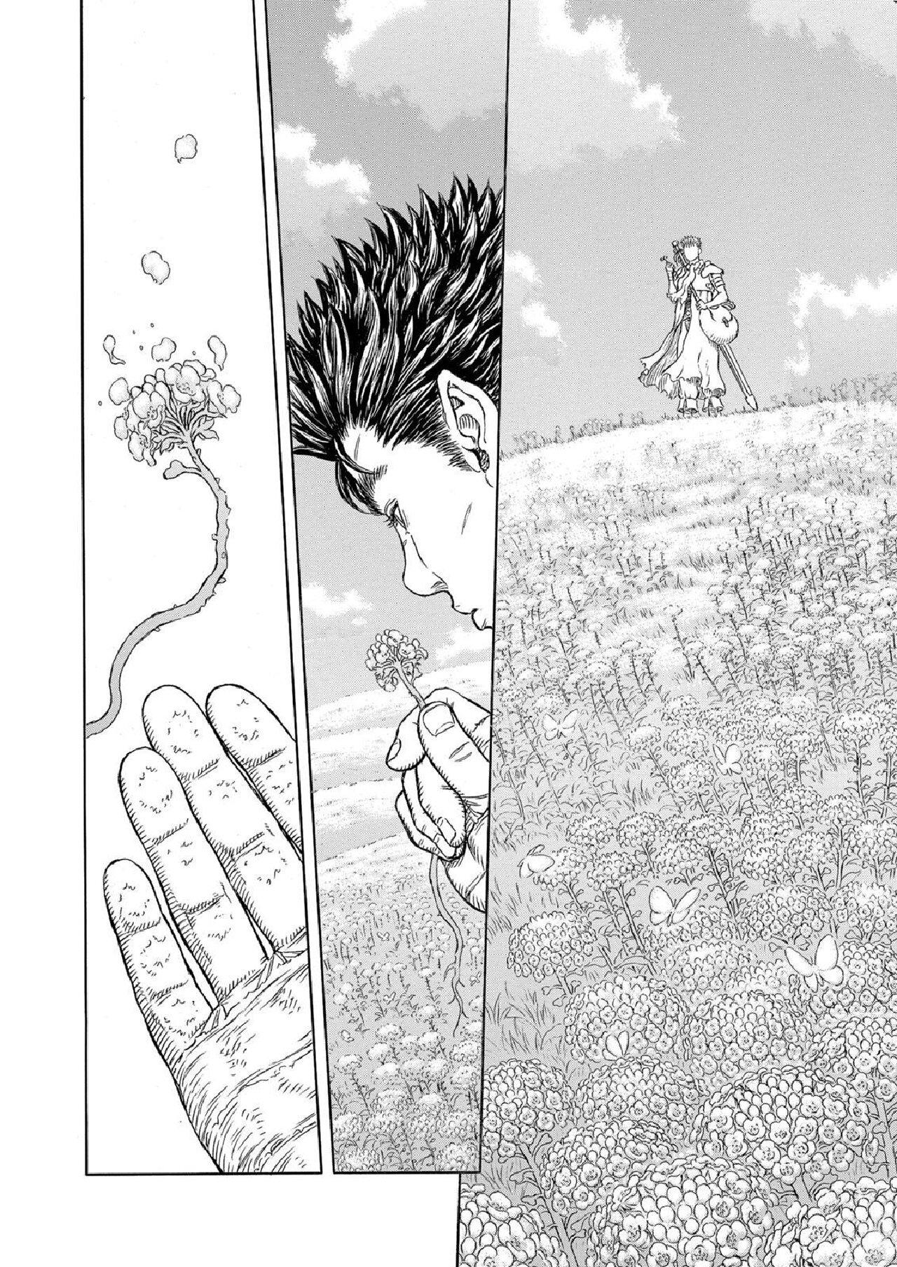 berserk kentaro miura manga muerte guts