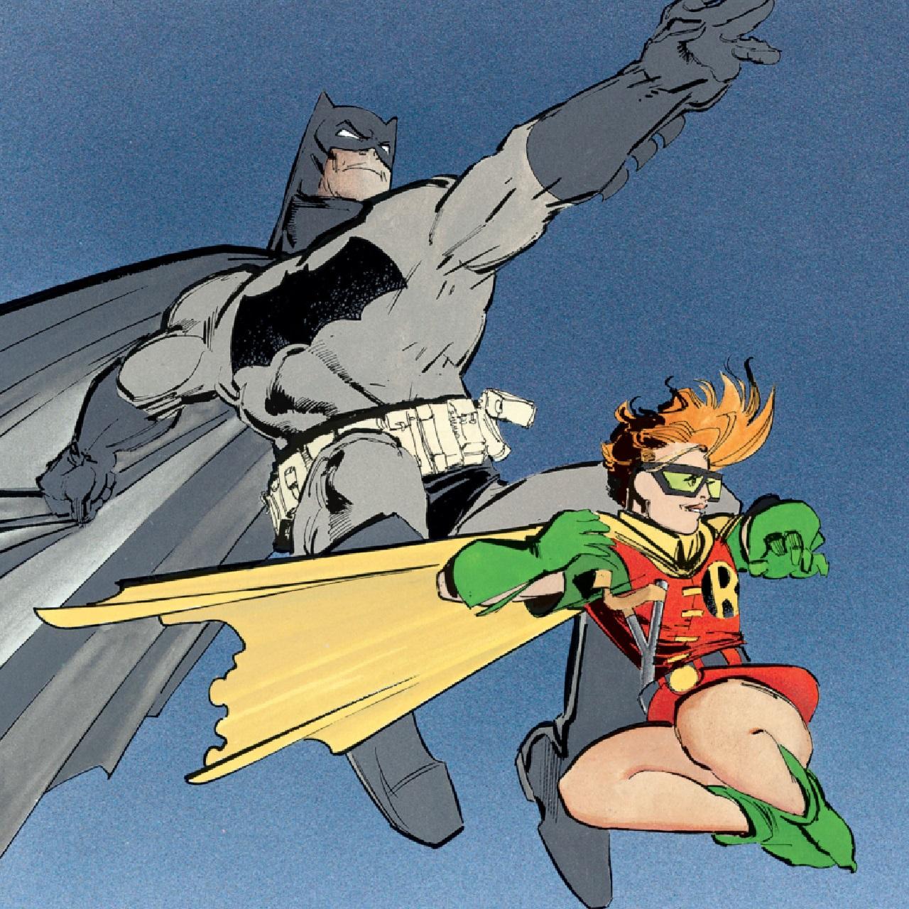 robin batman versiones carrie kelly