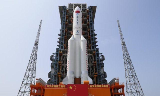 El cohete de China se salio de control y está a punto de volver a la tierra