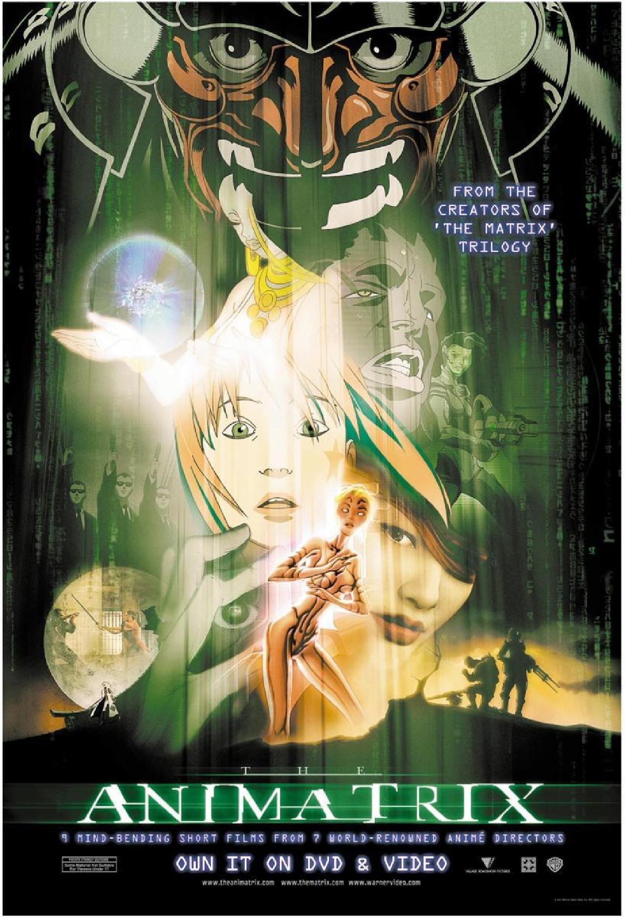the animatrix anime película ranking