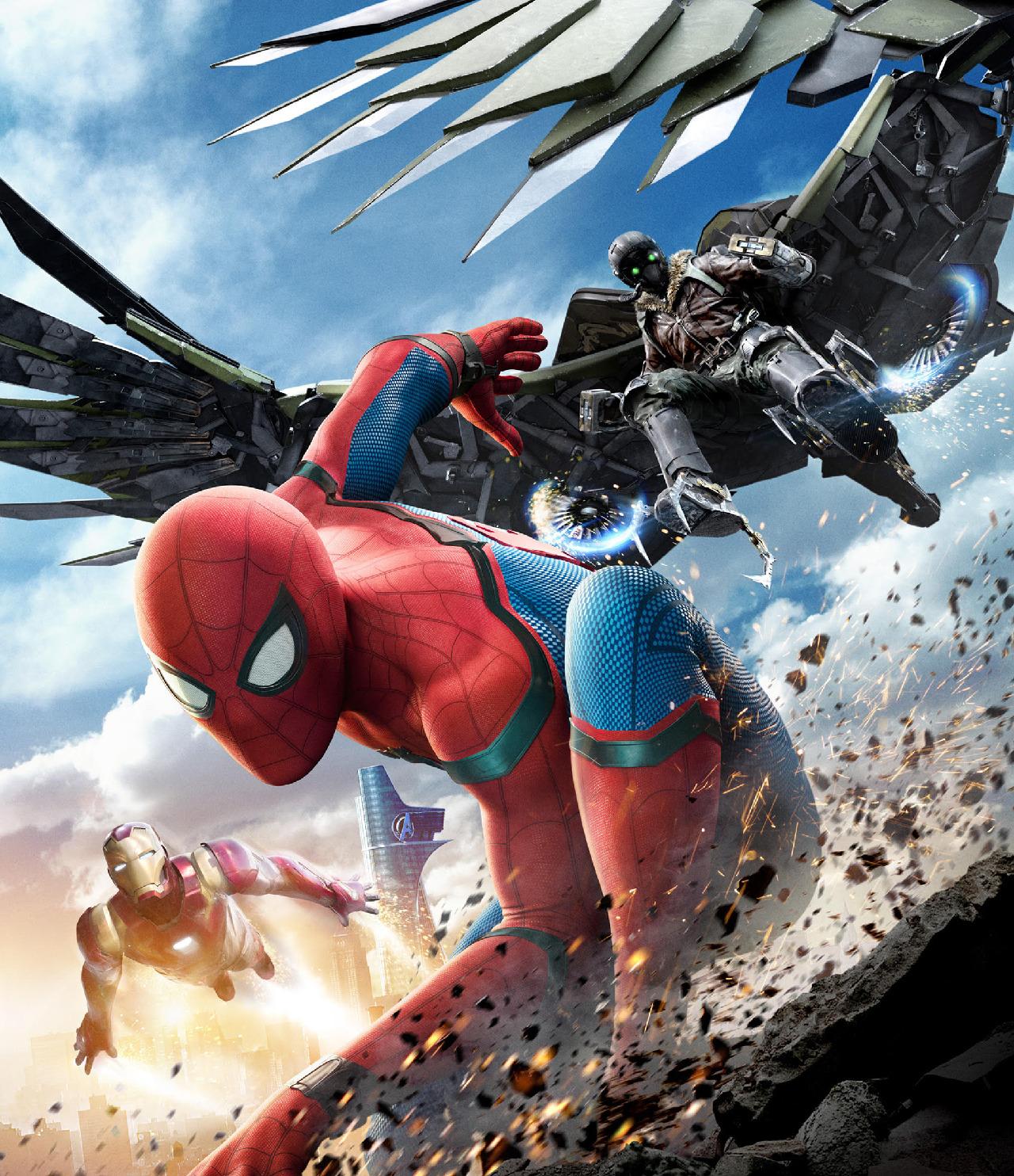buitre enemigos spider-man películas ranking