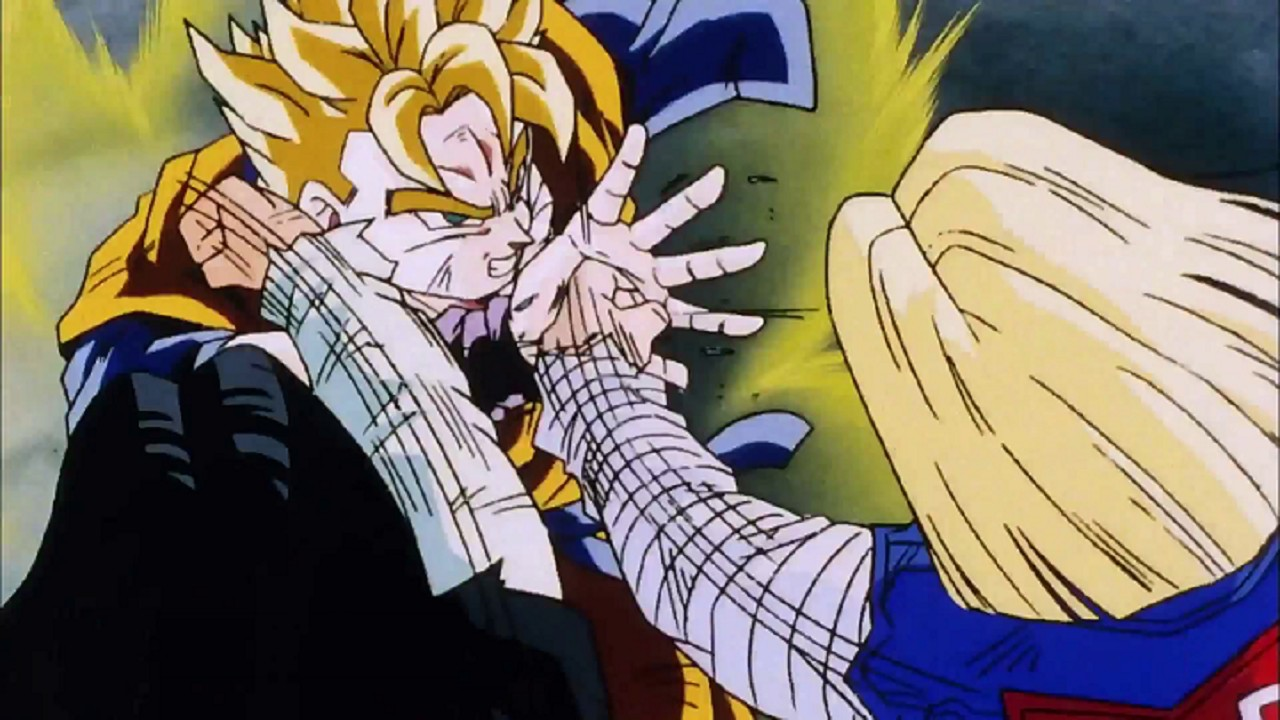 Dragon Ball Z Futuro Alterno Gohan Brazo Cómic