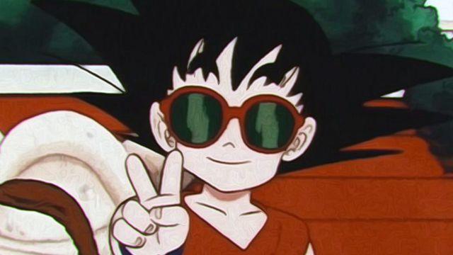 goku niño dragon ball fanart anime