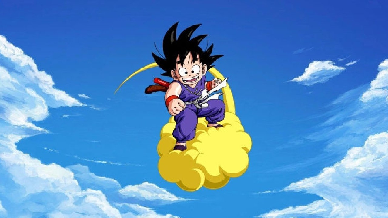 Goku nube voladora dragon ball