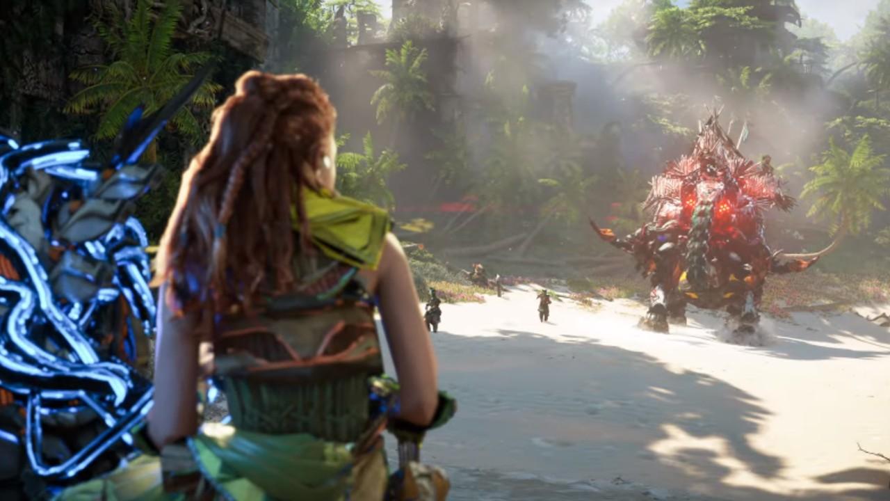Horizon Forbbiden West gameplay