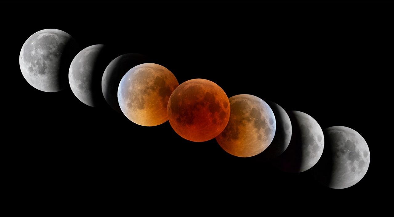 México Hora Ver Eclipse Lunar Superluna Luna Sangre 26 de mayo