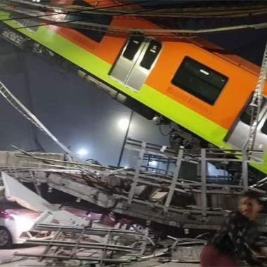 Metro CDMX Líea 12 derrumbe