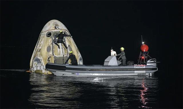 SpaceX Crew-1 NASA Regreso Amerizaje