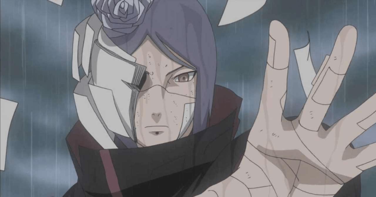 konan naruto akatsuki ranking poder