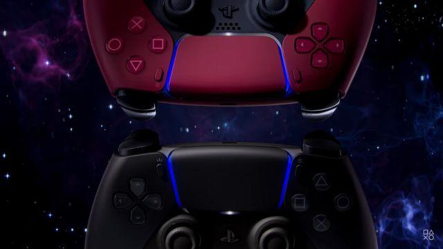 Nuevo DualSense PS5 Nuevos Controles PlayStation 5 Rojo y Negro