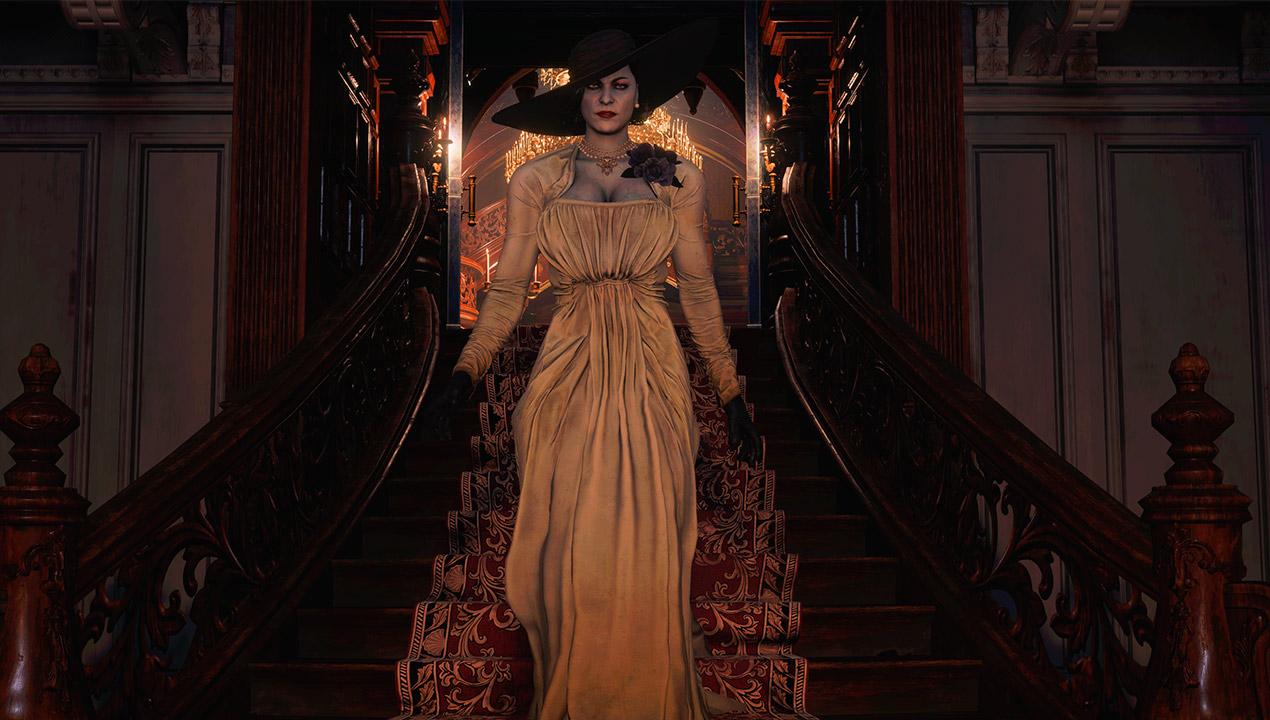 El mod de las hermanas desnudas en Resident Evil 8