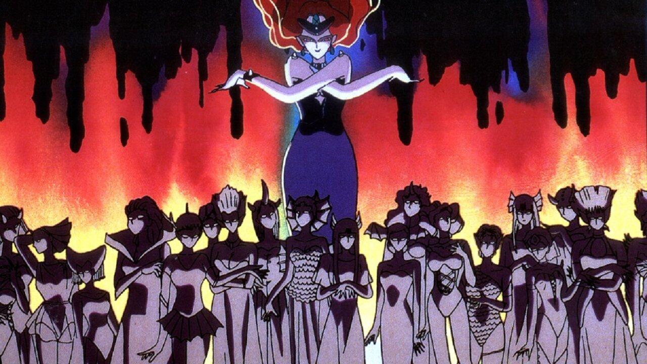 sailor moon villanos rabking poder anime serie