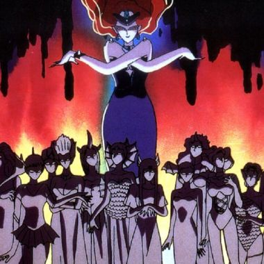 sailor moon villanos rabking poder anime serie