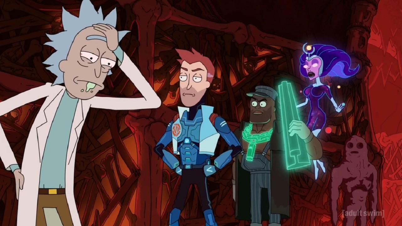 Rick and Morty Spin-off The Vindicators Adult Swim