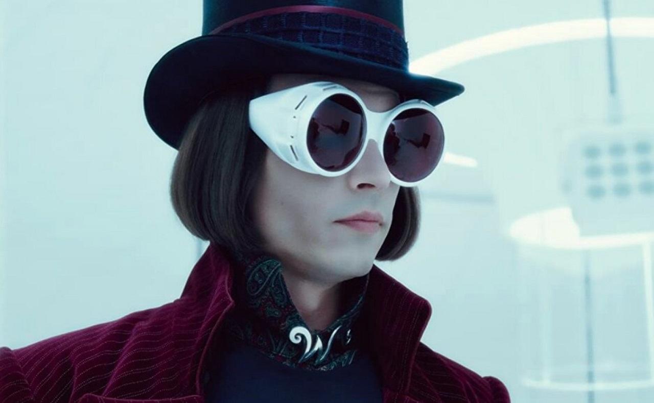 Johnny Depp Willy Wonka La Fábrica de Chocolate Nueva Película