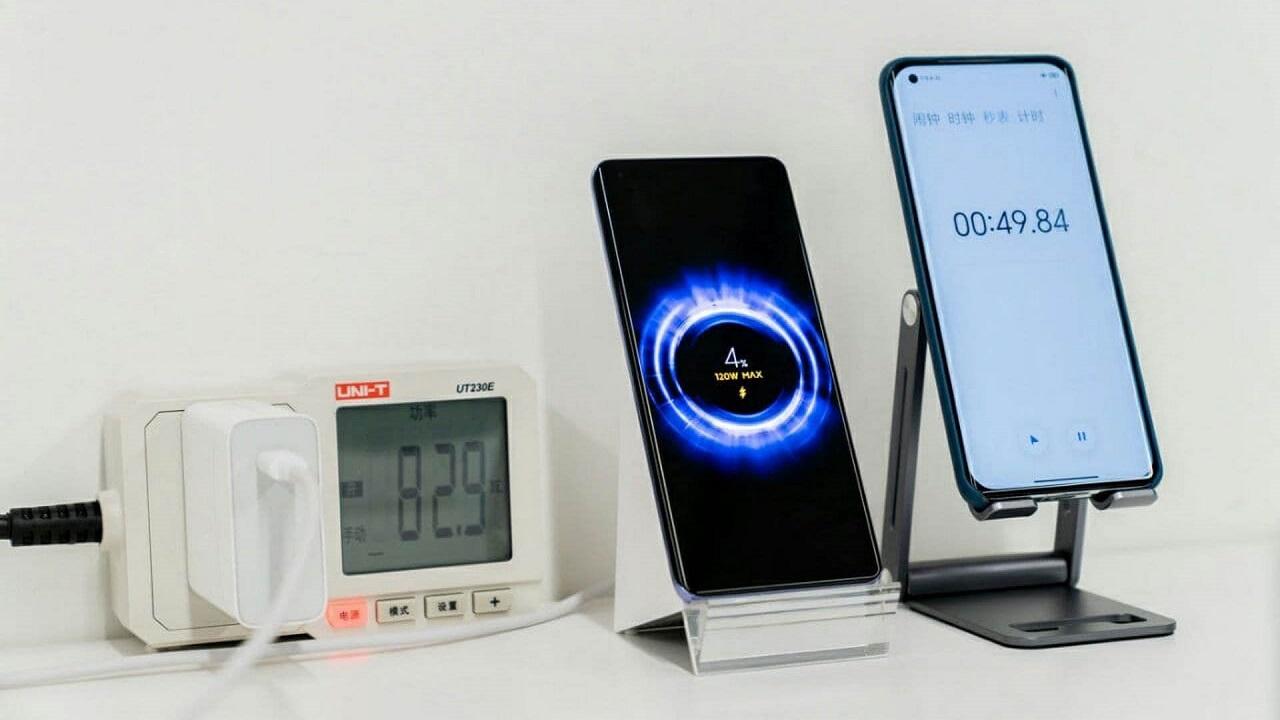 Xiaomi Hyper Charge Batería Carga Ocho Minutos