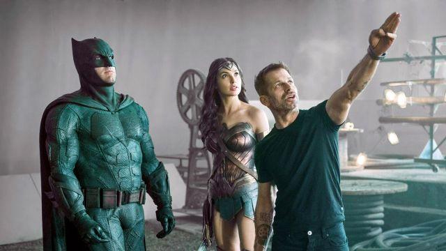 Zack Snyder Batman Wonder Woman Justice League