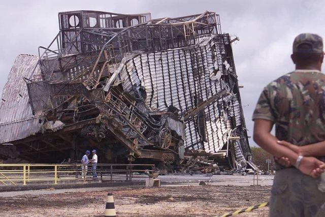 El accidente del cohete vls 1 en Brasil