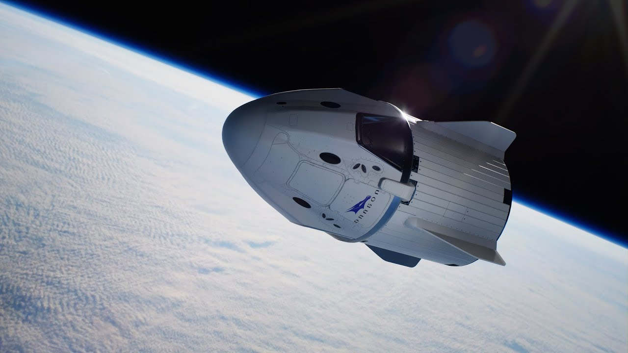 capsula dragon spacex nave espacial