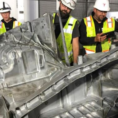 La Gigafactory de Texas imprimió un primer modelo del Model y