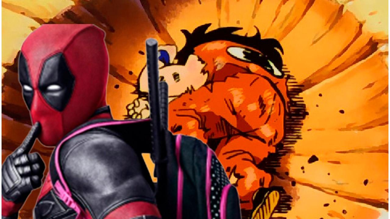 Yamcha y Deadpool en crossover epico