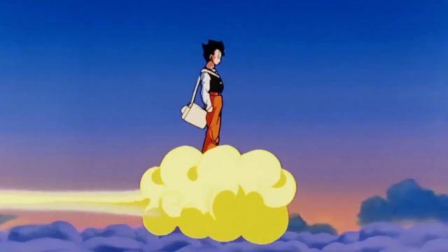 gohan nube voladora dragon ball z
