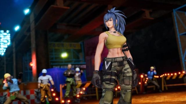 SNK confirma a Leona para el The King Of Fighters XV
