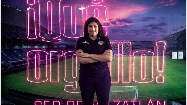 Ailín Escobado llega a reforzar la escuadra de Mazatlán FC