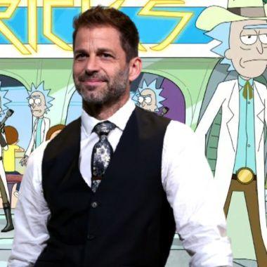 Zack Snyder podría hacer una pelicula de Rick y Morty