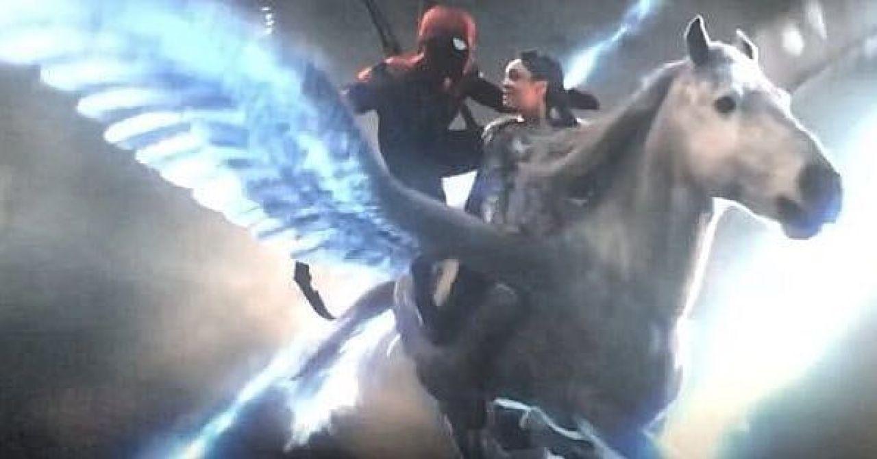 spiderman valkiria avengers endgame error