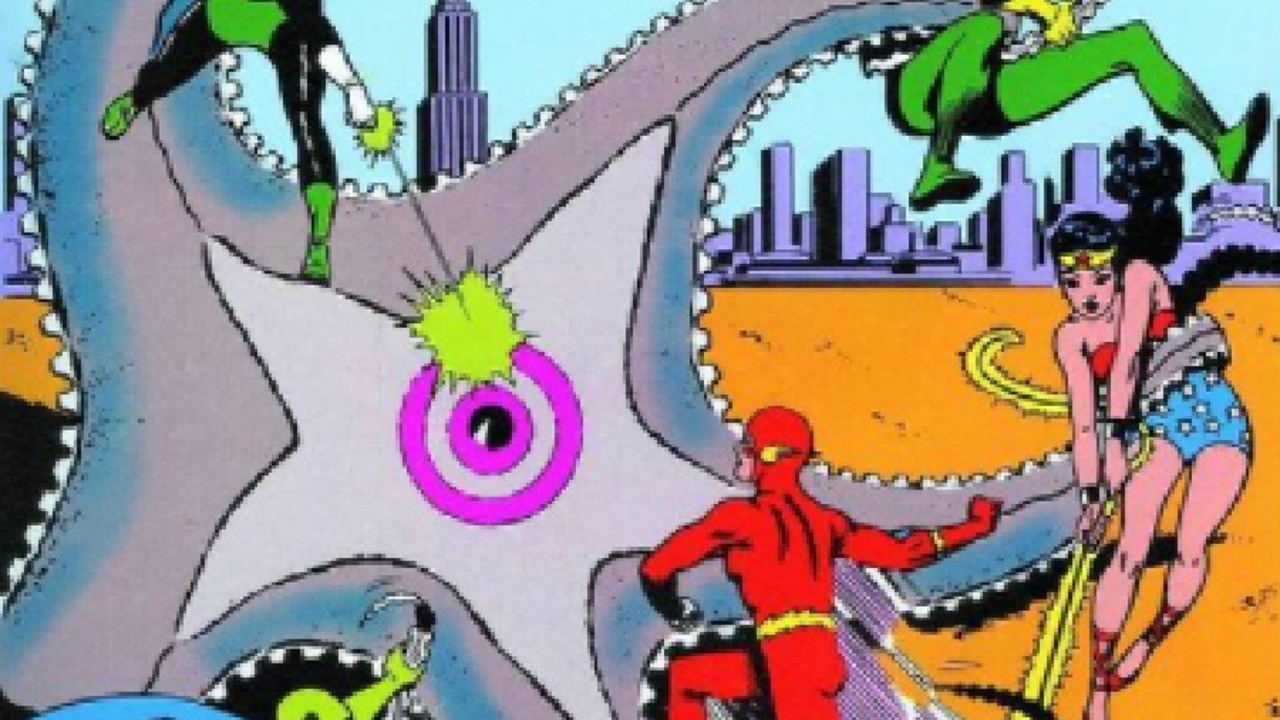 DC Comics: Fan art rinde homenaje a la portada de la primera aparición de La Liga de la Justicia en cómic