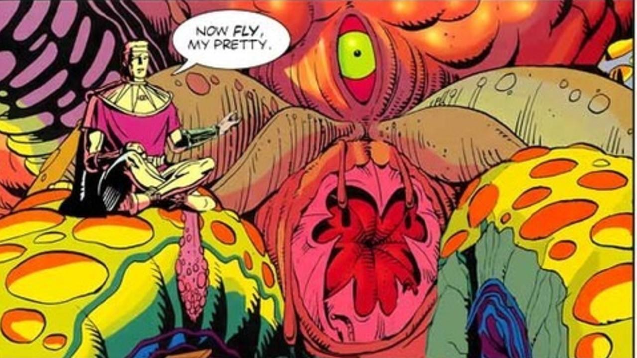 El calamar gigante es la parte final de Watchmen