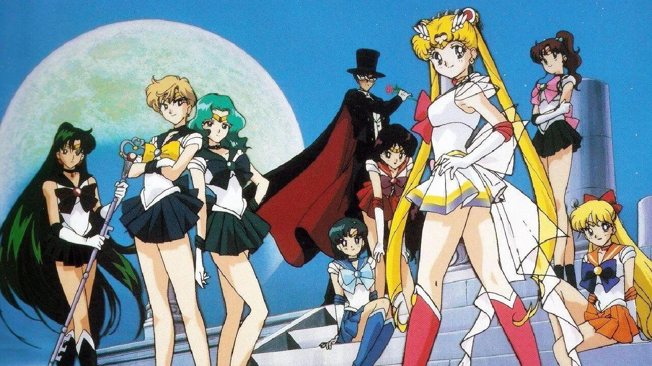 sailor moon anime toei animation noventas