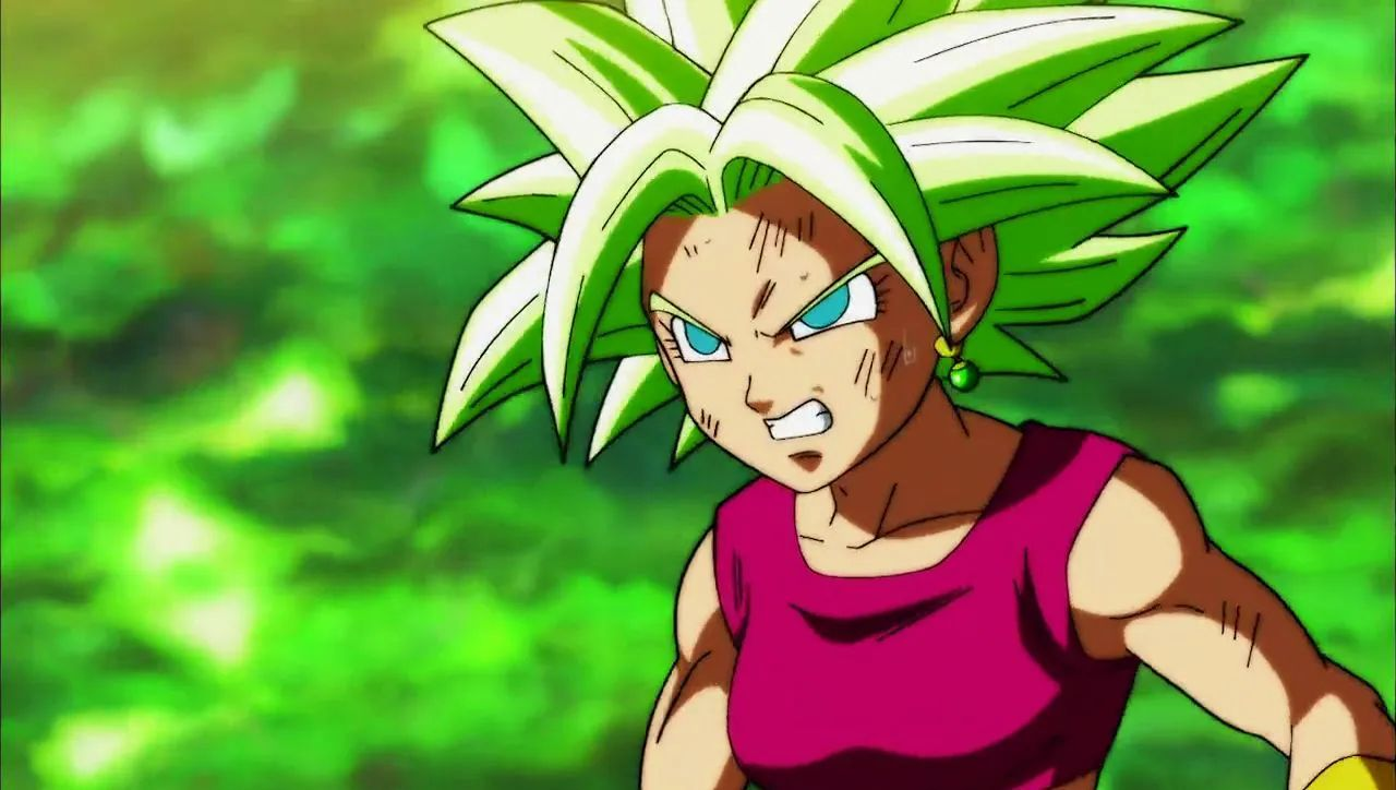 manga de dragon ball kale ranking poder