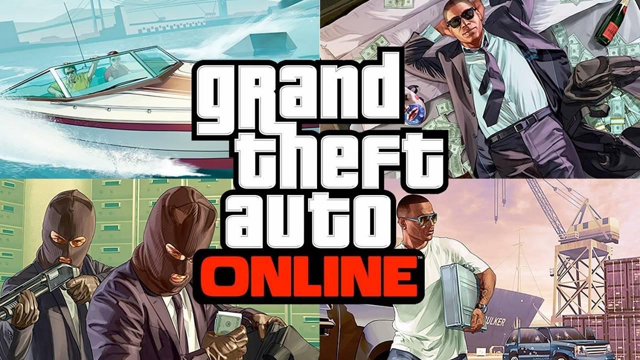 Rockstar Grand Theft Auto Online PS3 Xbox 360
