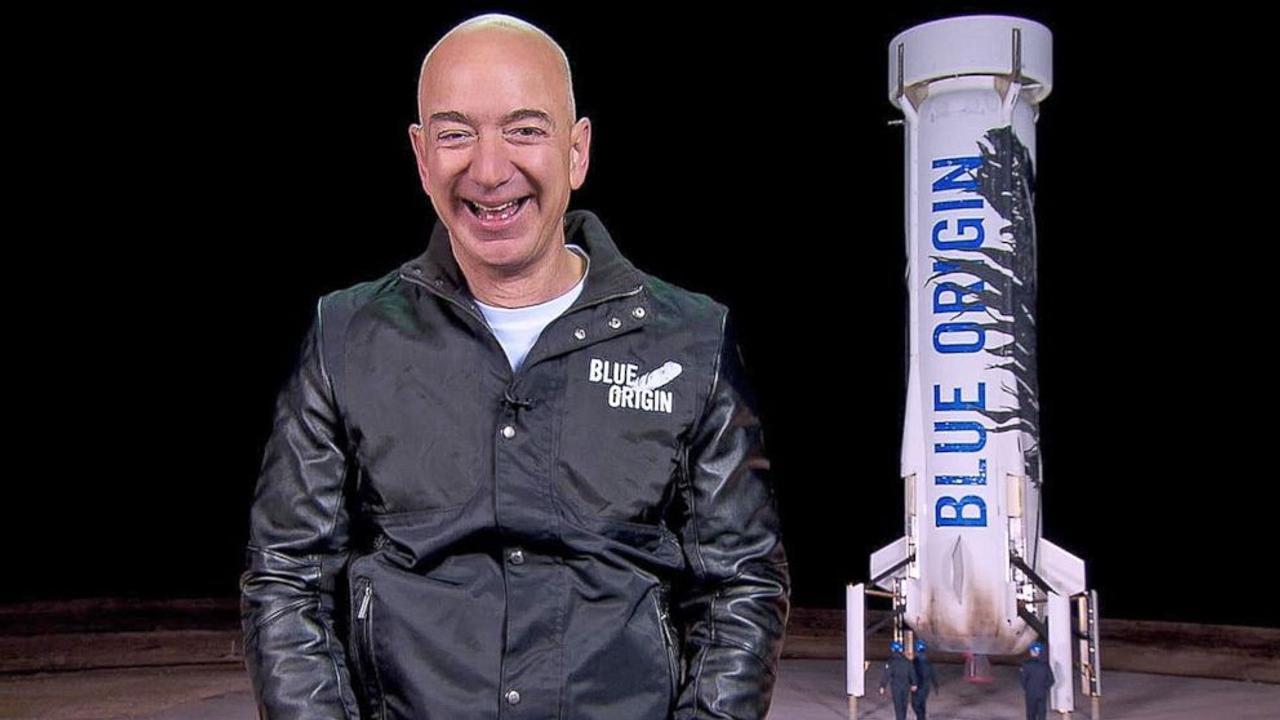 Jeff Bezos Blue Origin Espacio Primer Vuelo Tripulado Blue Origin