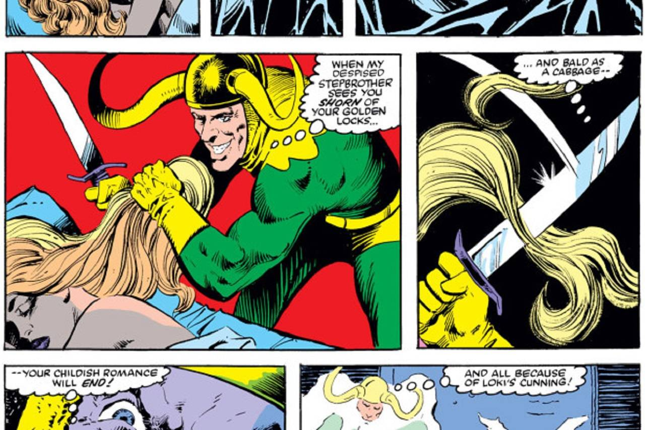 Serie Loki Lady Sig Cómics Corte Cabello