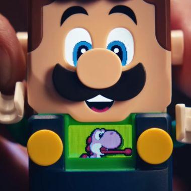 Luigi lego mario bros juguete precio