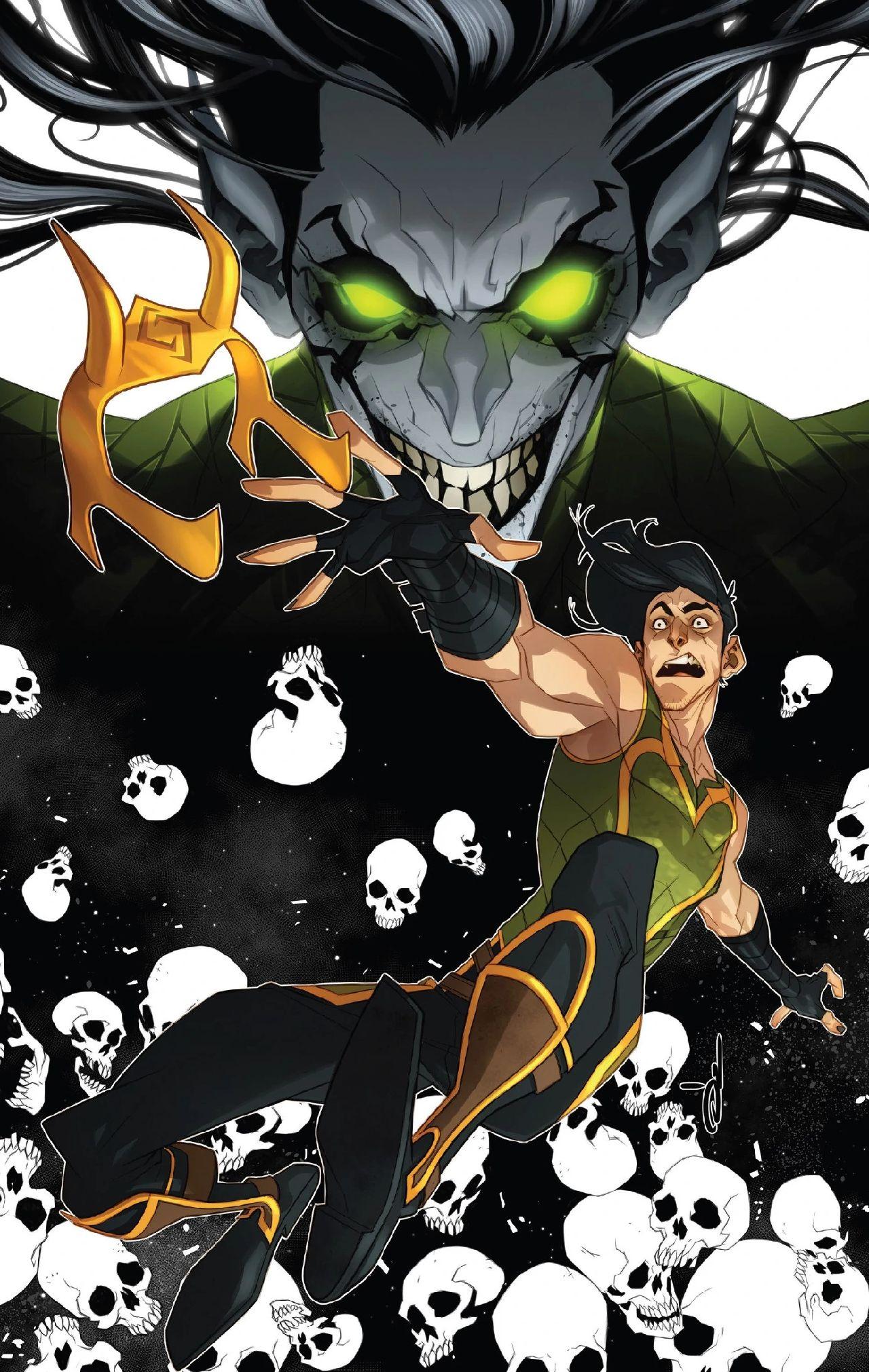loki serie marvel comic nightmare enemigo antagonista