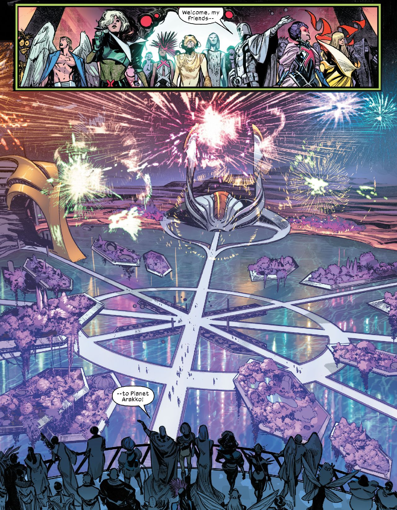 x-men comics marte arakko mutantes