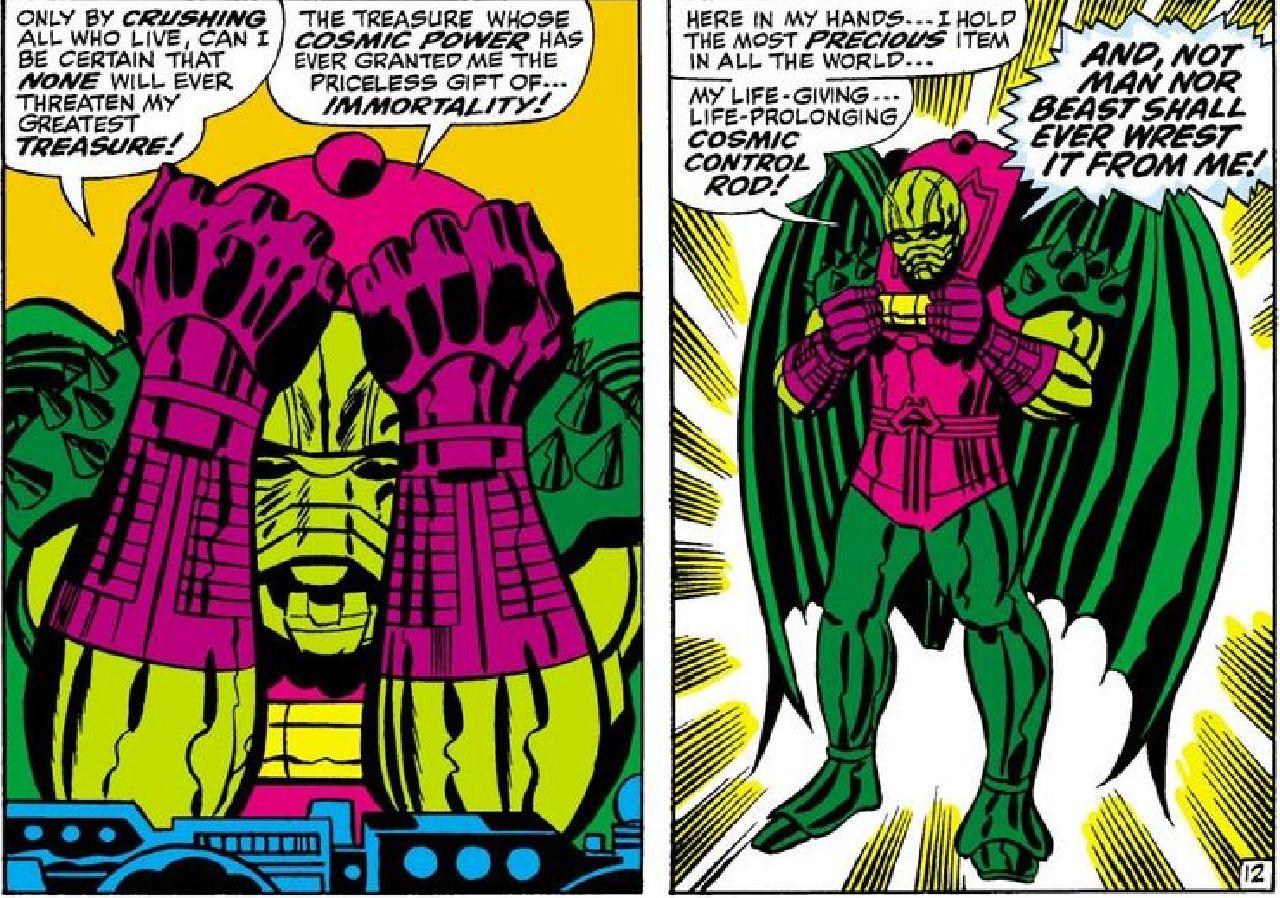 marvel comics mayores amenazas annihilus